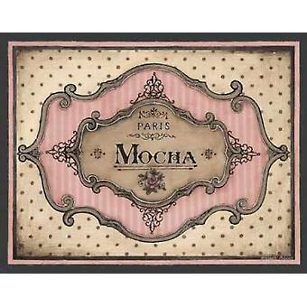 Mocha Poster Print by Kimberly Poloson