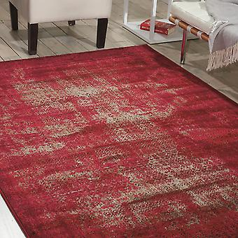Karma Krm01 di tappeti In rosso
