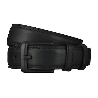 Lee belts men's belts leather belt black 4636