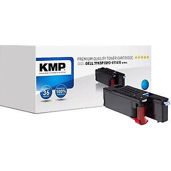 KMP Toner cartridge replaced Dell 593-11141 Compatible Cyan 1400 pages D-T81C