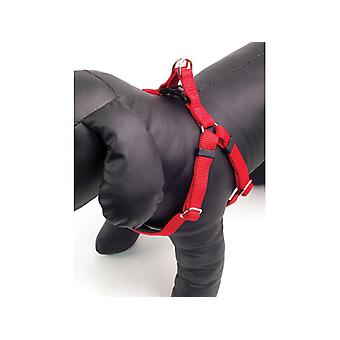 Classic Soft Protection Nylon Harness Red Large 1