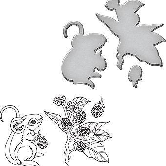 Spellbinders Stamp & Die Set-Mouse SDS037