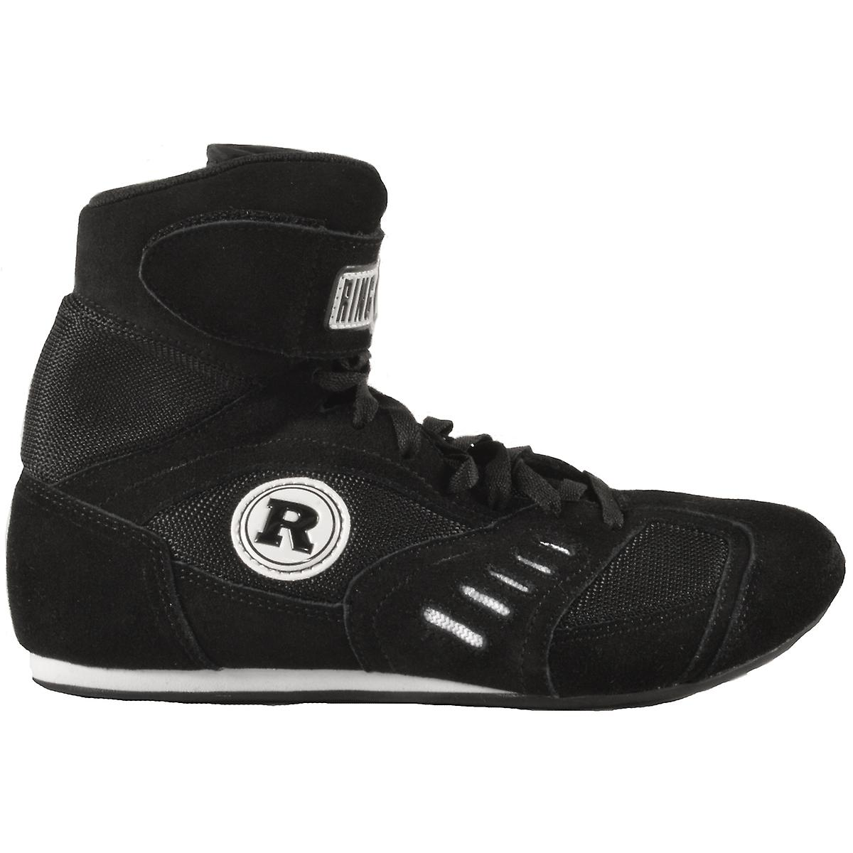 Am Ring macht Boxen Schuhe - Schwarz