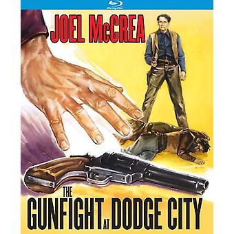 Vuurgevecht bij Dodge City [Blu-ray] USA import
