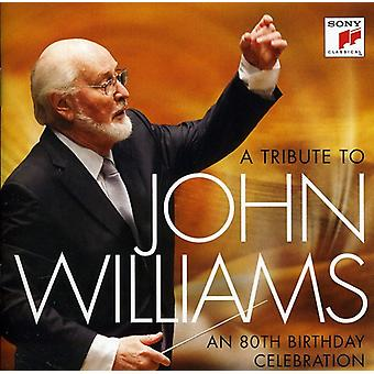 John Williams - en hyldest til John Williams: en 80-års fødselsdag [CD] USA importerer