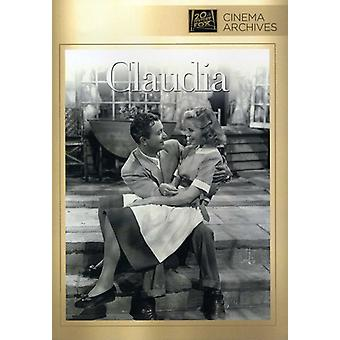 Claudia [DVD] USA import