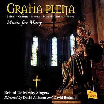 Bristol Universitet sangere - Gratia Plena-musik for Mary [CD] USA import