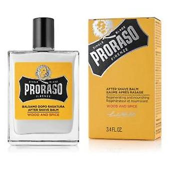 Proraso Wood and Spice Aftershave Balm 100ml