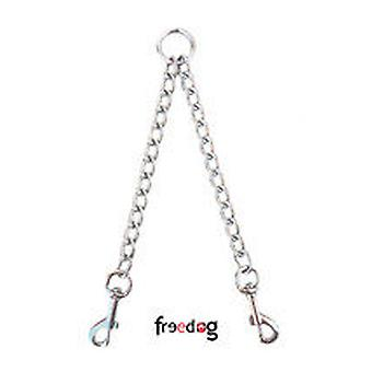 Freedog Metal chain 2.5mm x 40cm Duo (Dogs , Collars, Leads and Harnesses , Leads)