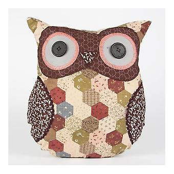 Tweedmill William Wise Owl Cushion