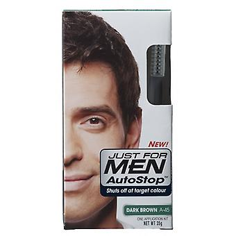 Just For Men 3 X Just For Men AutoStop Foolproof Haircolour Dark Brown (A45)