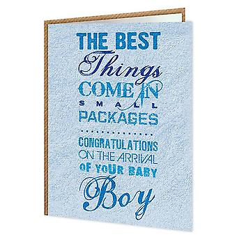 Brainbox Candy Small Packages Boy Card