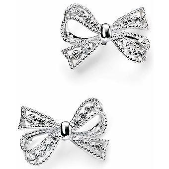 925 sølv Butterfly knute øreringer