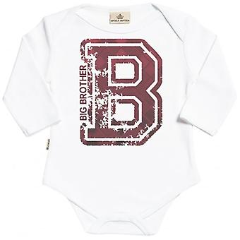Verwöhnte faulen Big Brother Bio Babygrow