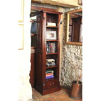 La Roque Narrow Alcove Bookcase Brown - Baumhaus