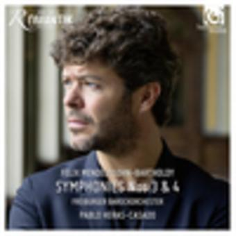 Mendelssohn, f el. / Casado, Pablo Heras - sinfonías Nos.3 y 4 [CD] USA import