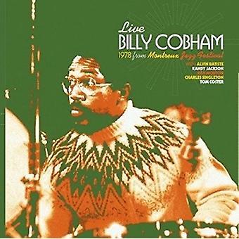 Billy Cobham - Live i Montreux, Schweiz 1978 [CD] USA import