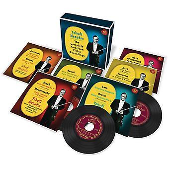 Yehudi Menuhin - Yehudi Menuhin: Komplet amerikansk Victor optagelser [CD] USA import
