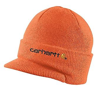 Carhartt vinter Hat med visir - Bright Orange CHA164BOG Herre Beanie peak