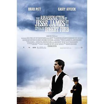 El asesinato de Jesse James por el cobarde Robert Ford Movie Poster (11 x 17)