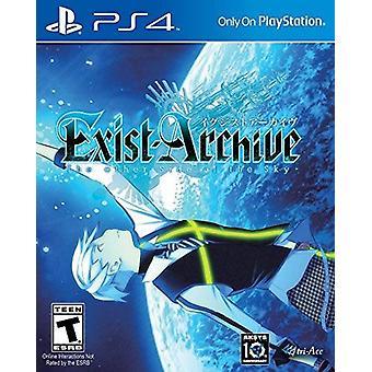 Archief overkant van Sky PS4 spel bestaan