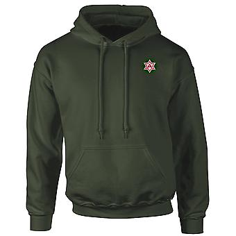 US Sixth Army Embroidered Logo - Hoodie
