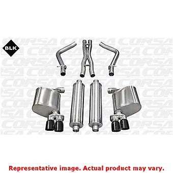 CORSA Performance Cat Back Exhaust 14522BLK Black Fits:CHRYSLER 2011 - 2012 300