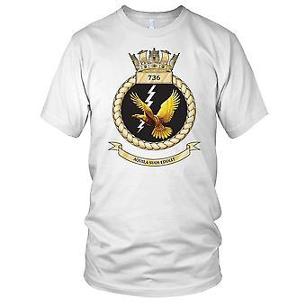 Royal Navy Fleet Air Arm 736 Naval Air Squadron Ladies T Shirt