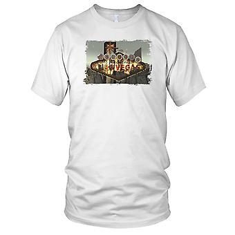 Welcome To Las Vegas Poker Kids T Shirt
