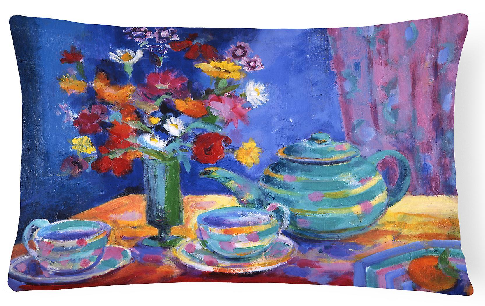 Fabric Thé Par Bleu Décoratif Wendy Oreiller Hoile xBerWdCo