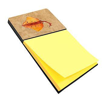 Blonde Ray Stingray Refiillable Sticky Note Holder or Postit Note Dispenser