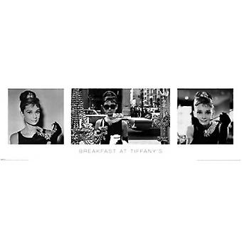 Audrey Hepburn - Breakfast at Tiffanys plakat plakat Print