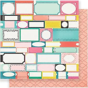 Maggie Holmes Carousel Double-Sided Cardstock 12