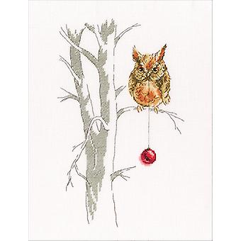 Waiting For A Holiday Counted Cross Stitch Kit-6.5