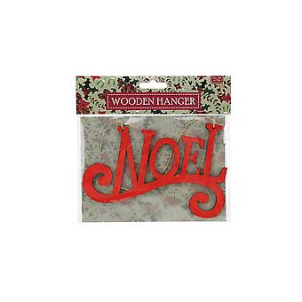 CGB Giftware Christmas Wooden Noel Hanging Sign