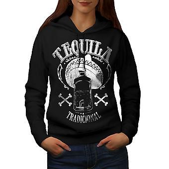 Tequila tradycyjnych kobiety BlackHoodie   Wellcoda