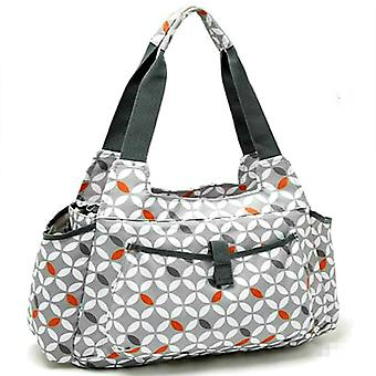 Baby Changing Tote Bag Grey Aztec