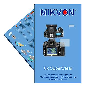 Nikon D750 screen protector- Mikvon films SuperClear