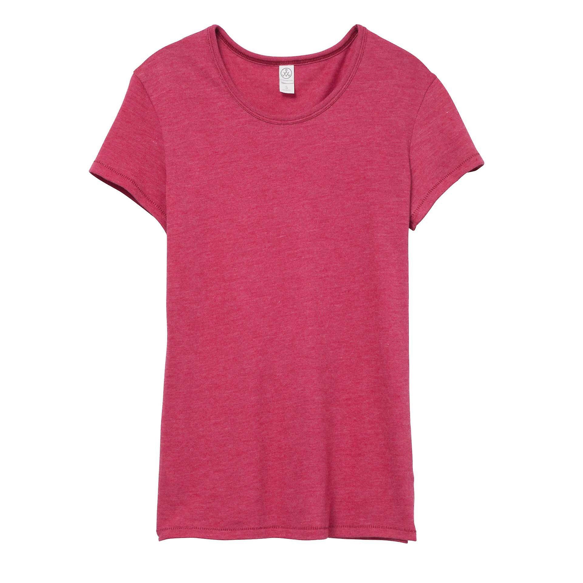 Alternative Apparel Womens/Ladies Vintage 50/50 T-shirt