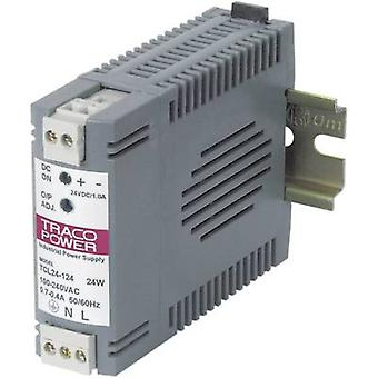 Rail mounted PSU (DIN) TracoPower TCL 024-105 5 Vdc 4 A 24 W 1 x
