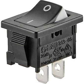 Toggle switch 250 V AC 6 A 1 x Off/On SCI R13-66A3