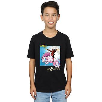 Marvel Boys Deadpool Hey You T-Shirt
