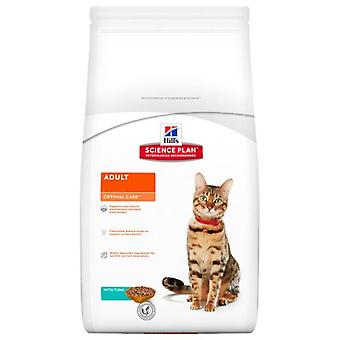 Hill's Adult Optimal Care Tuna (Cats , Cat Food , Dry Food)