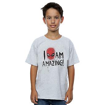 Marvel Spiderman-Jungs ich bin erstaunlich T-Shirt