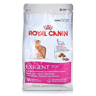 Royal Canin exigente saborea comida para gatos seca 35/30 sensación 2kg