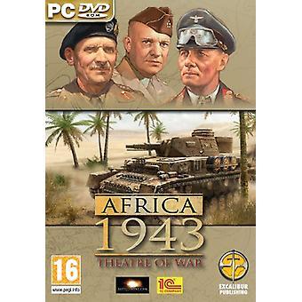 Krigsskuepladsen Afrika Korps (PC CD)