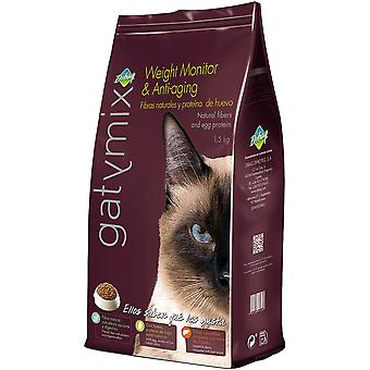 GatyMix Cats Weight Monitor & Anti Aging  (Cats , Cat Food , Dry Food)