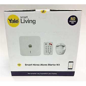 Yale Smart Wireless WiFi Home Alarm Security System Starter Kit with Key Pad