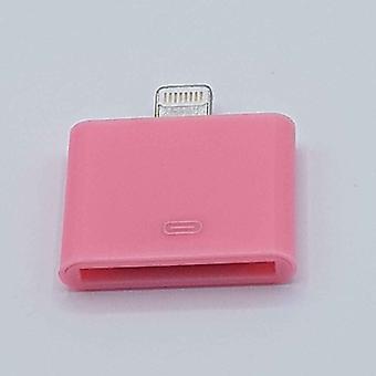 30 Pin Naar Lightning compatible (8 Pin) Kabel Adapter - Voor Ipad / iPhone - Roze