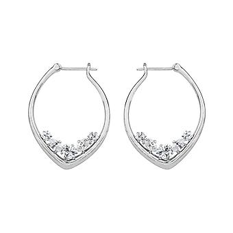 Joop women's hoop earrings stainless steel Silver simply modern JPCO00001A000